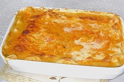 Lachs-Lasagne mit Spinat 102