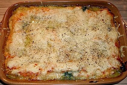 Lachs-Lasagne mit Spinat 83