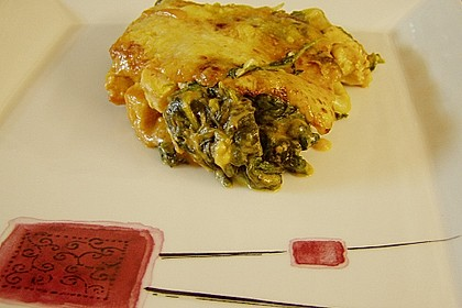 Lachs-Lasagne mit Spinat 47