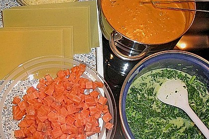 Lachs-Lasagne mit Spinat 31