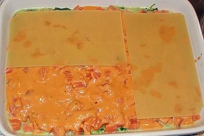 Lachs-Lasagne mit Spinat 91