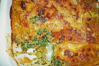 Lachs-Lasagne mit Spinat 58