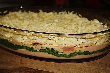 Lachs-Lasagne mit Spinat 62