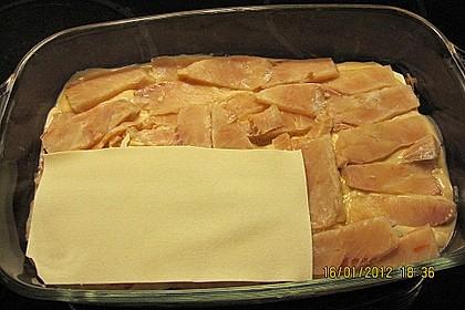 Lachs-Lasagne mit Spinat 118