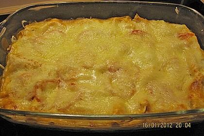 Lachs-Lasagne mit Spinat 110