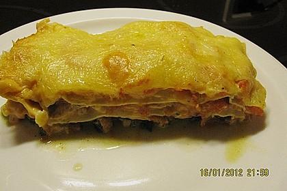 Lachs-Lasagne mit Spinat 71