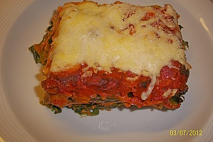 Lachs-Lasagne mit Spinat 30