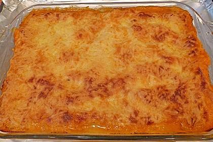 Lachs-Lasagne mit Spinat 116