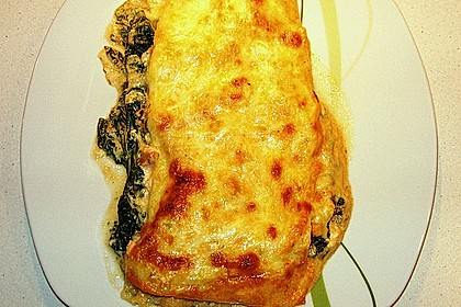 Lachs-Lasagne mit Spinat 48