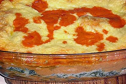 Lachs-Lasagne mit Spinat 79