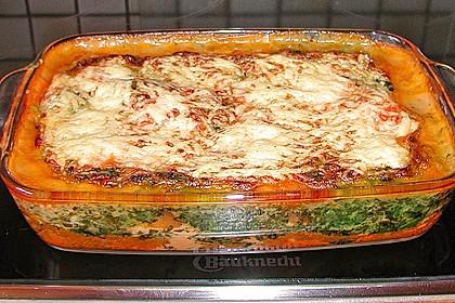 Lachs-Lasagne mit Spinat 22
