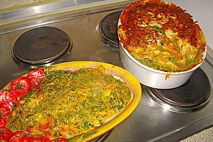 Lachs-Lasagne mit Spinat 74
