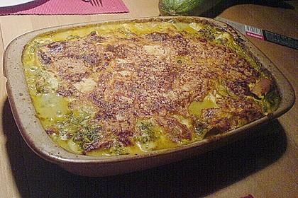 Lachs-Lasagne mit Spinat 77