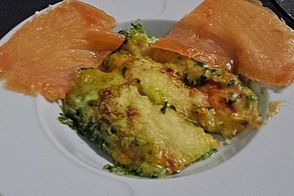 Lachs-Lasagne mit Spinat 122