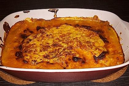 Lachs-Lasagne mit Spinat 90