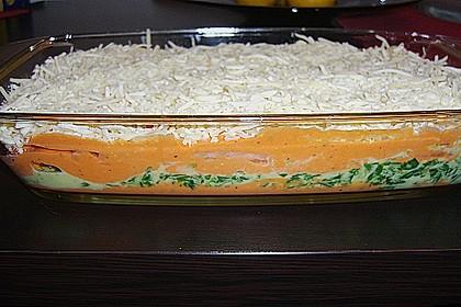Lachs-Lasagne mit Spinat 52