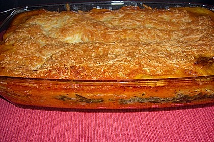 Lachs-Lasagne mit Spinat 57