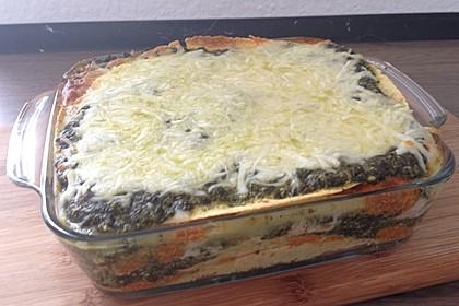 Lachs-Lasagne mit Spinat 27