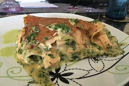 Lachs-Lasagne mit Spinat 49