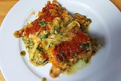 Lachs-Lasagne mit Spinat 35