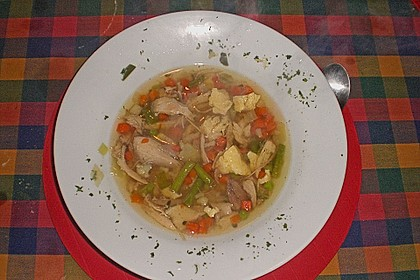 Mutters Hühnersuppe 12