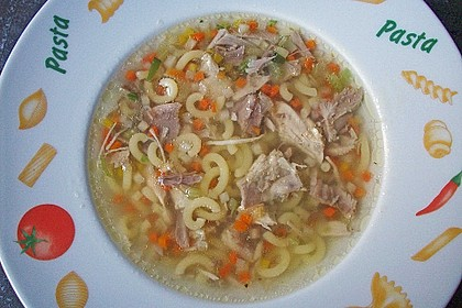 Mutters Hühnersuppe 9