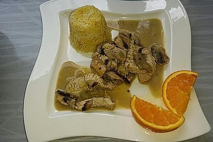 Putengeschnetzeltes mit Orangenhonig 7