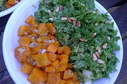 Grüner Couscous-Salat