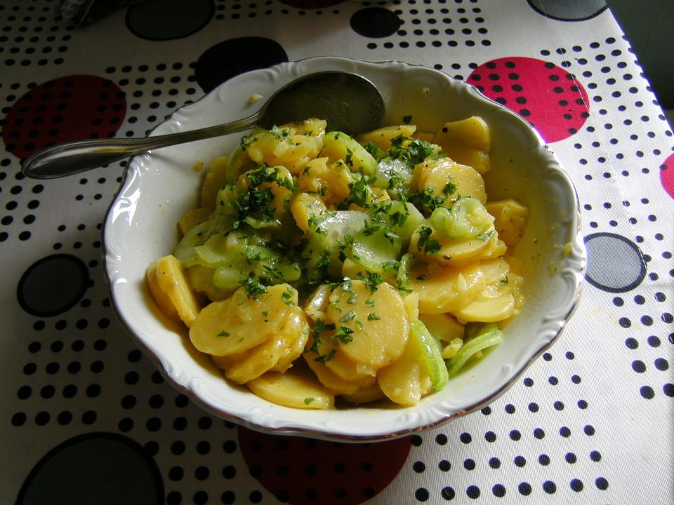 mein schw bischer kartoffelsalat mit salatgurke von anaid55. Black Bedroom Furniture Sets. Home Design Ideas
