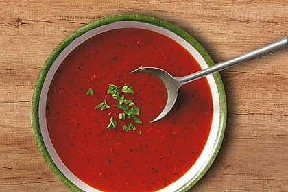 Tomatensuppe Toscana