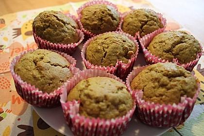 Kürbis-Apfel-Muffins
