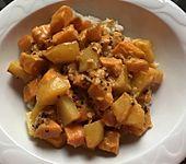 Indisches Süßkartoffelcurry (Bild)