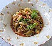 Bohnen-Fenchel-Gemüse