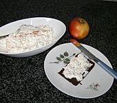 Apfel-Gurken-Schmand-Dip
