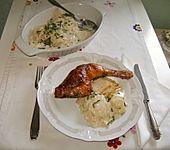 Kräuter-Hähnchenkeulen mit Kohlrabigemüse
