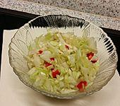 2 Tage Spitzkohl-Paprika-Lauch-Salat