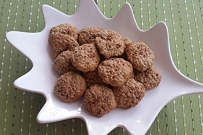 Winterliche Haferflocken-Zimt-Kekse