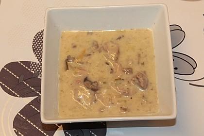 Champignon-Rahm-Geschnetzeltes aus dem Slow-Cooker