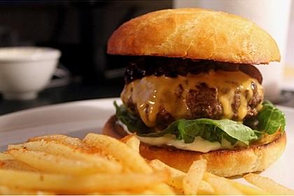 Homemade Burger 1