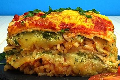 Reis-Lasagne