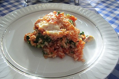 Reis-Lasagne (Bild)