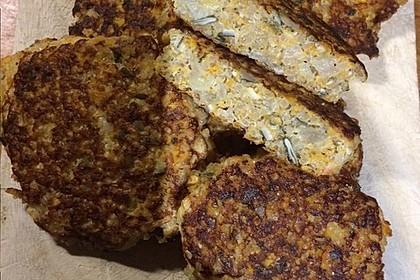 Kürbis-Quinoa-Burger
