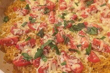 Curryreis mit Tomaten