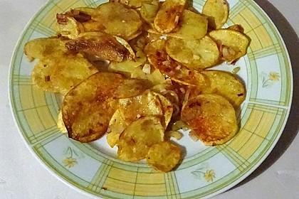 Peperoni-Bratkartoffeln à la Didi
