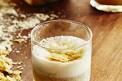 Cappuccino von der Artischocke mit Grana Padano Schaum