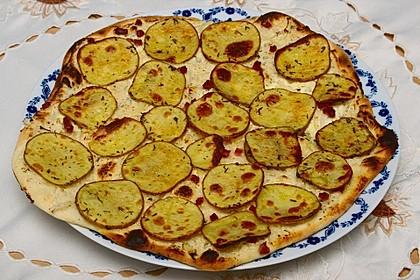 Kartoffelflammkuchen