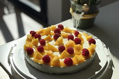 Philadelphia Mango-Himbeere Torte 2