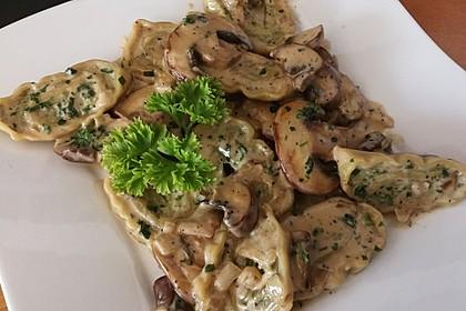 Schnelle Maultaschen-Pilz-Pfanne 1