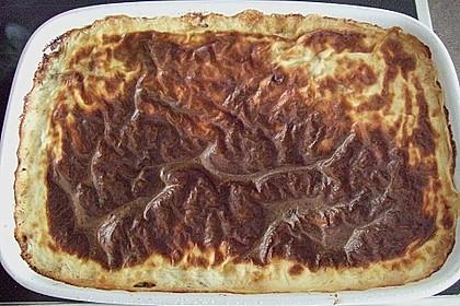 Moussaka mit Schafskäse - Bechamelsauce 22