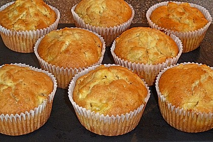 apfel muffins rezept mit bild von bezwinger. Black Bedroom Furniture Sets. Home Design Ideas